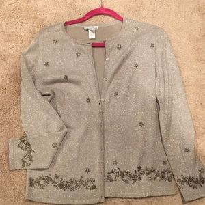 Silver jacket - small - used